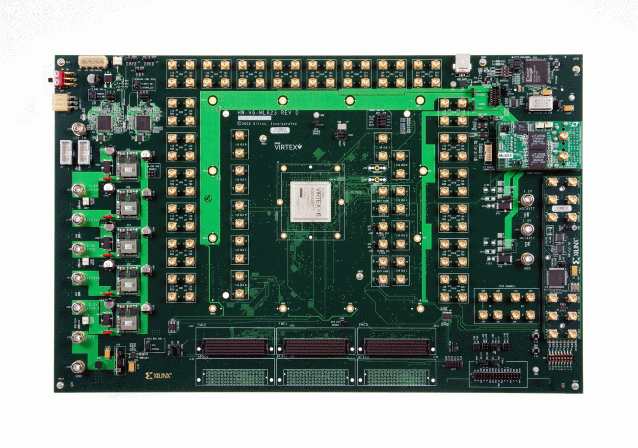 Xilinx Virtex-6 FPGA ML623